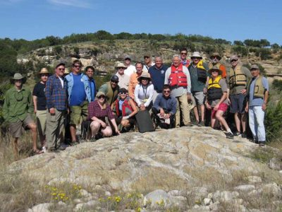 Houston Geologic Society Field Trip - Turtle Carapace Stromatolite